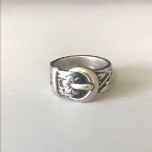 James Avery Buckle Ring